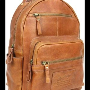 Rawlings Backpack 100% Leather